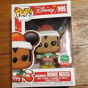 Gingerbread Minnie Mouse Limited Edition Funko Pop for Sale in Aurora, CO