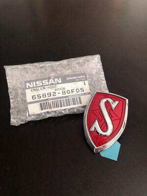 """Nissan Genuine OEM JDM Silvia """"S"""" Hood Emblem Chrome/Red for Sale in Oldsmar, FL"""