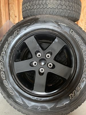 Entire set of upgraded Mopar Jeep Wheels! for Sale in S CHESTERFLD, VA