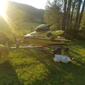 97 seadoo xp 787 with trailer for Sale in Greene, NY