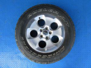 """18"""" Jeep Wrangler rim wheel tire SINGLE #6261 for Sale in Aventura, FL"""