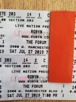 Robyn At the Forum on July 27 for Sale in Alhambra, CA