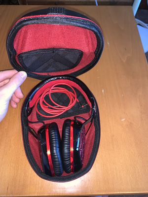 New Headphones (V Moda brand) with case for Sale in Brookfield, CT