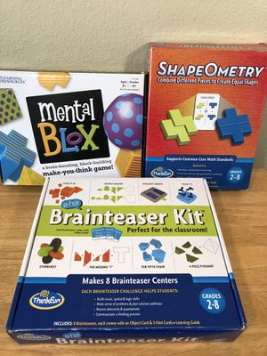 Kids Brain Stimulating Games for Sale in Poway, CA