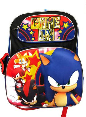 Brand NEW! 3D Sonic The Hedgehog Backpack For School/Traveling/Everyday Use/Birthday Gifts $22 for Sale in West Carson, CA