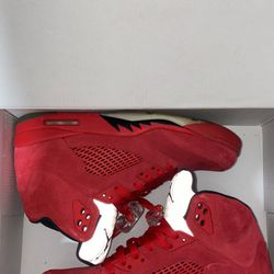 Jordan 5 Retro Red Suede for Sale in Wake Forest,  NC