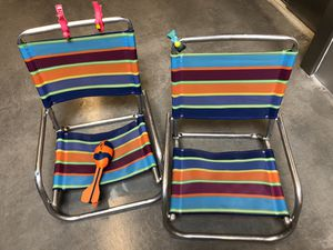Two beach chairs for Sale in Alexandria, VA