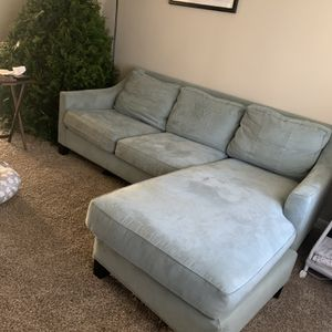 Blue Couch for Sale in Ellenwood, GA