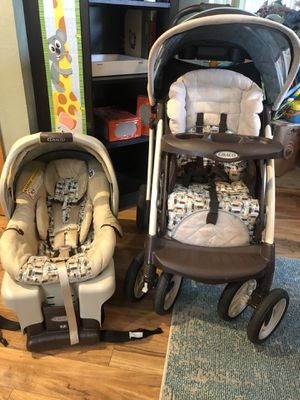 Graco travel system- snugride 30 for Sale in Vancouver, WA