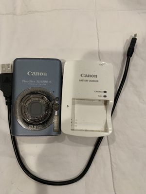 Canon 10 mega pixel digital camera with charging kit. for Sale in Washington, DC
