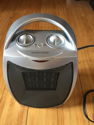 Small Ceramic Space Heater & Fan - Works Great! for Sale in Los Angeles, CA