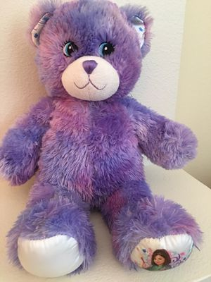 "Build a Bear Disney Wizards of Waverly Place Purple Shimmer Teddy Bear Plush 16"" for Sale in Belle Isle, FL"