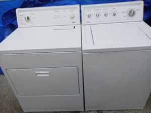 Kenmore washer dryer with guarantee for Sale in Spring Hill, FL
