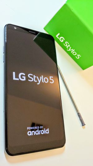 NEW Cricket LG stylo 5. Brand new in Box. 6.2 inch Huge screen. Cricket wireless only for Sale in Dallas, TX