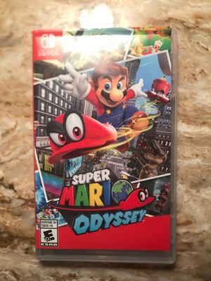 Super Mario odyssey for Nintendo switch for Sale in Grosse Pointe Shores, MI