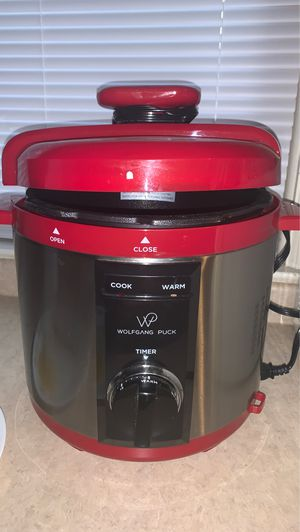 WolfGang Puck Pressure cooker for Sale in Stonewood, WV