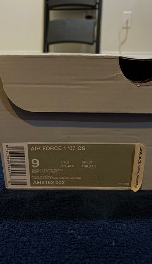 Air Force 1 low Swoosh Pack All-Star 2018 sz 9 for Sale in Gaithersburg, MD
