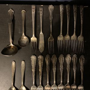 Lot Of Vintage Silverware for Sale in Cape May Court House, NJ