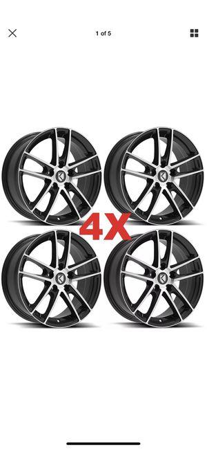 17 Alloy Wheels Rims Honda Accord 2007 2008 2009 2010 2012 2013 2014 2015 2016 2017 for Sale in Santa Fe Springs, CA