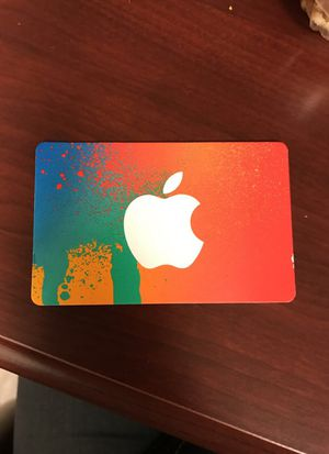 iTunes card for Sale in Lexington, KY