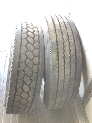 Semi trailer tires 295/75r22.5 for Sale in Aurora, IL