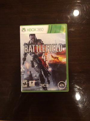 Battlefield 4 Xbox 360 game for Sale in Dallas, TX