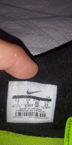 Nike cleats size 7 for Sale in Wichita, KS