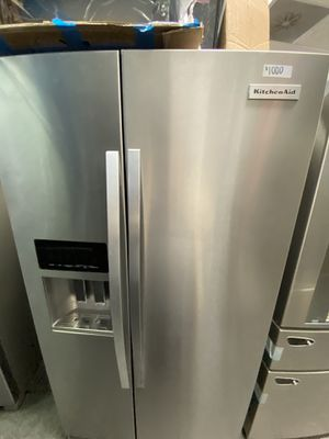 KitchenAid 2 Door Side By Side Stainless Steel Refrigerator for Sale in Signal Hill, CA