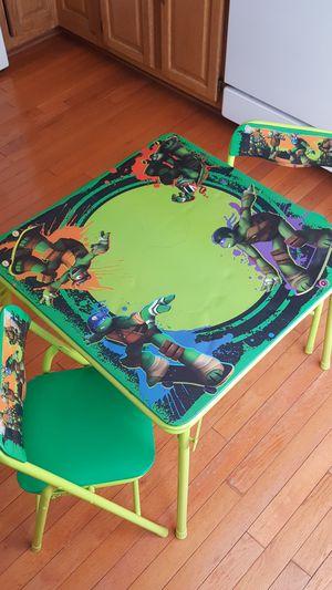 Teenage Mutant Ninja Turtle kids table for Sale in Manassas, VA