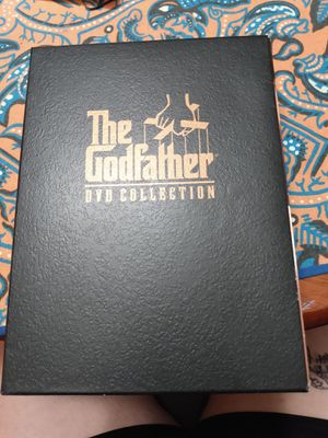 DVD Collection of the Godfather for Sale in Anderson, SC