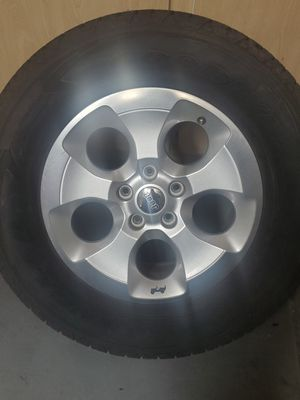 ***TIRES and WHEELS *** Jeep Wrangler rubicon for Sale in Phoenix, AZ