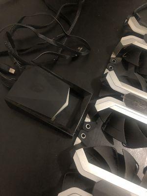 DEEPCOOL MF120 Aluminium Frameless Smart RGB Case Fan, 3 in 1, PWM,120mm for Sale in Queens, NY