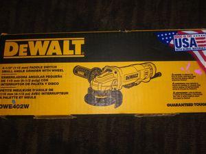 "4 1/2"" dewalt small angle grinder for Sale in Hemet, CA"