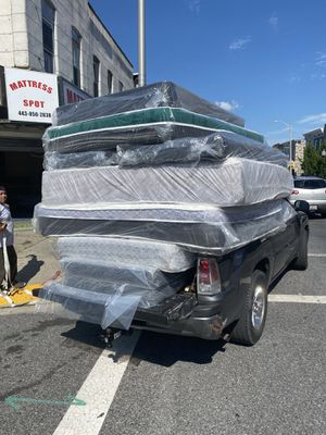 Mattress FREE BOX SPRING ♥️Sameee day delivery for Sale in Baltimore, MD