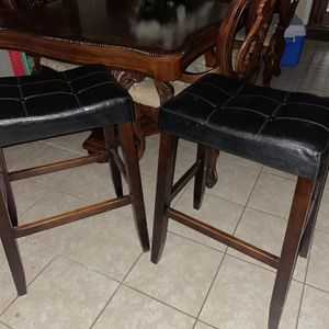 Two Bar Stools 20 Each or 30 for both for Sale in Houston, TX