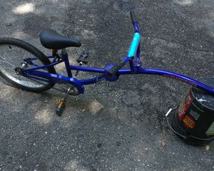 InStep bike tag along kid peddles too Pathfinder trailer dealie. Needs hitch = $15 for Sale in New Cumberland, WV
