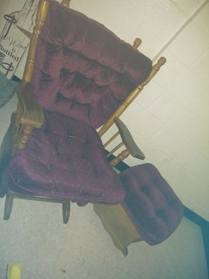 Rocking chair and a rocking stool. Good condition, have some age but works just fine ! for Sale in Nashville, TN