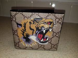 Gucci Tiger Supreme Leather Belt Authentic for Sale in New York, NY