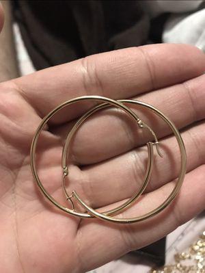 Argollas de oro 14k for Sale in Miami, FL