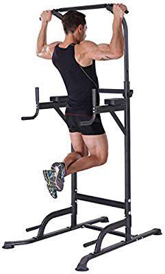 KiNGKANG Power Tower Home Gym Adjustable Height Pull Up Bar Fitness Equipment Multi-Function Work Out Equipment, T055        for Sale in Fullerton, CA