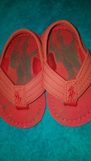 Baby polo sandals size 7 for Sale in Kent, WA