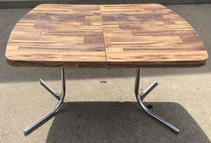 Vintage Patterned Breakfast or Dining Table for Sale in Cedar Hill, TX