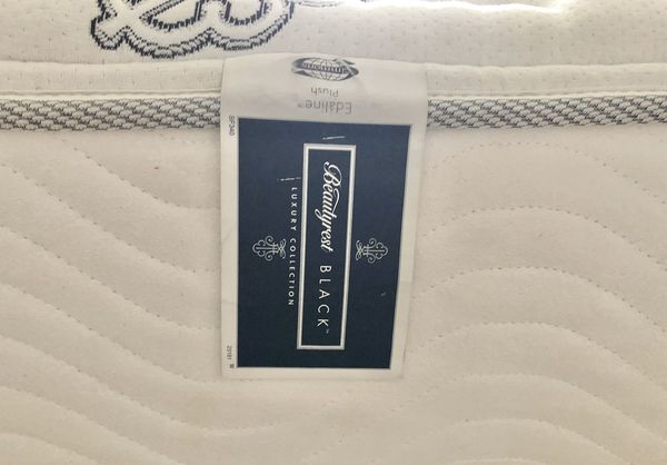 Free King Size Plush Mattress Only For Sale In Lake