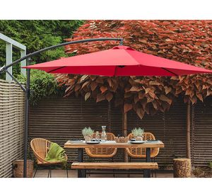 Offset Umbrella 10FT Cantilever Patio Hanging Umbrella for Sale in Brooklyn, NY