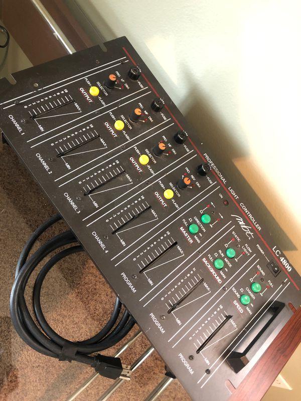 LC 4800 DJ light and sound control station