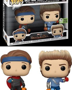Funko Pop! Wandavision Billy and Tommy Spring Convention Exclusive *PREORDER* Confirmed for Sale in Riverside,  CA
