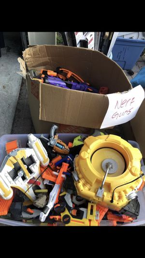 Nerf Guns $ 25 (15 guns) for Sale in Palm Beach Gardens, FL