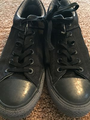 Men's Black Converse -8 for Sale in Barrington, IL