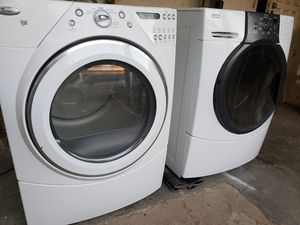 Gas WhirlPool/Kenmore Front Loader Washer & Dryer Set for Sale in San Diego, CA