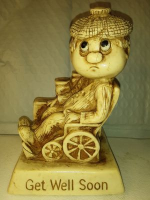 "RUSS BERRIE & CO. ""GET WELL SOON"" COLLECTIBLE STATUE for Sale in Charlotte, NC"